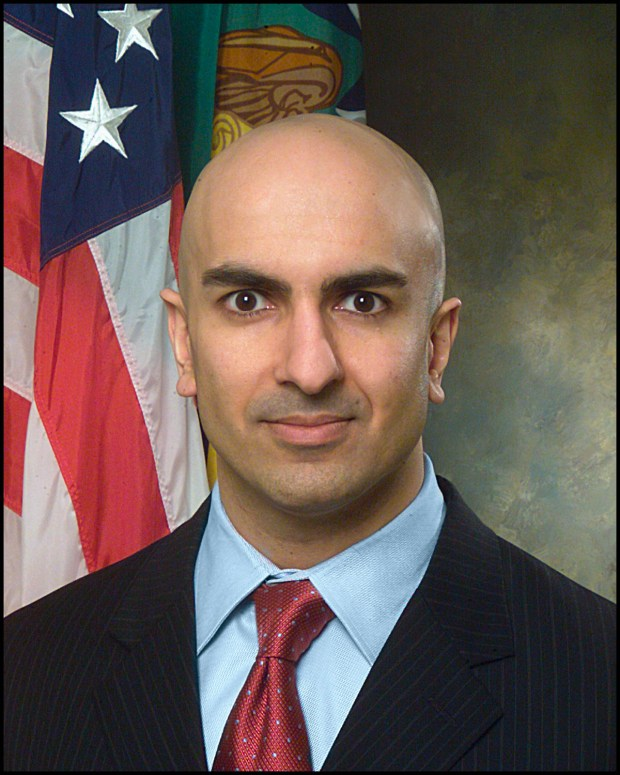 Neel Kashkari (AP Photo/U.S. Treasury Dept., Chris Taylor)