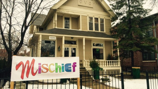 Mischief is a new store on Grand Avenue in St. Paul. (Pioneer Press: Molly Guthrey)
