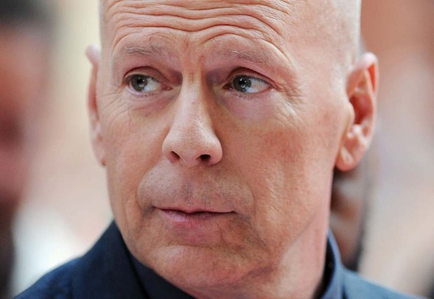 """Actor Bruce Willis — of the """"Die Hard"""" movies and, more recently, """"Looper"""" and """"Moonrise Kingdom"""" — is 61. (Getty Images: Stuart C. Wilson)"""