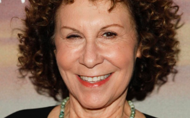 """Actress Rhea Perlman of th '80s sitcom """"Cheers"""" is 68. (Associated Press: Andy Kropa)"""