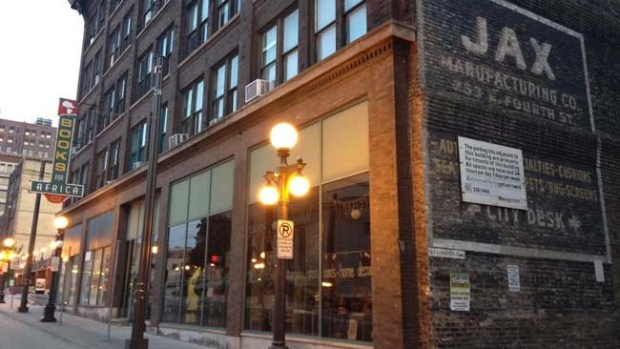 The Jax building on Fourth Street in Lowertown St. Paul. (Pioneer Press: Joseph Lindberg)