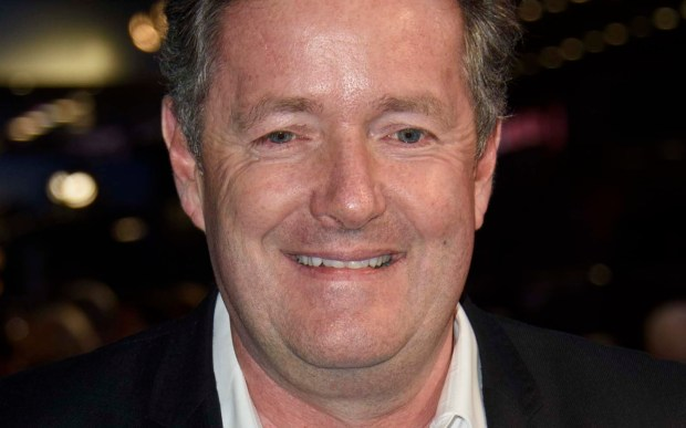 TV host Piers Morgan is 51. (Associated Press: Jonathan Short)