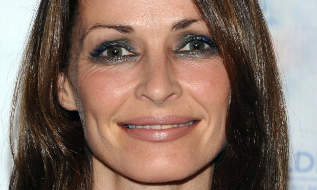 Singer-violinist Sharon Corr of the Irish group the Corrs is 46. (Getty Images: Angela Weiss)