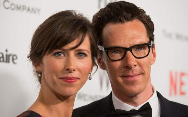 """Theater director and playwright Sophie Hunter, left, whose credits include """"69 Degrees"""" and """"The Magic Flute,"""" is 38. And of course she gets to be married to actor Benedict Cumberbatch, right. (Getty Images: Valerie Macon)"""