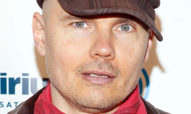 Singer Billy Corgan of Smashing Pumpkins is 49. (Getty Images: Cindy Ord)