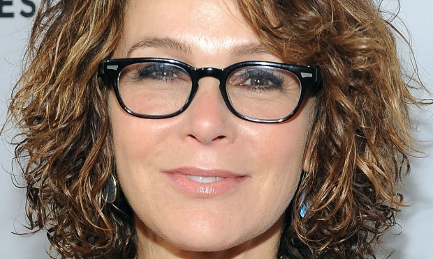 "Actress Jennifer Grey -- in yet another unrecognizable cosmetic incarnation since her ""Dirty Dancing"" days -- is 56. (Getty Images: Angela Weiss)"