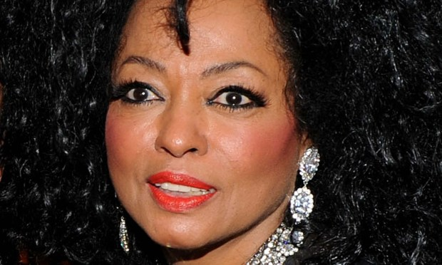 Singer Diana Ross is 72. Ain't no hairdo wide enough. (Getty Images: Larry Busacca)