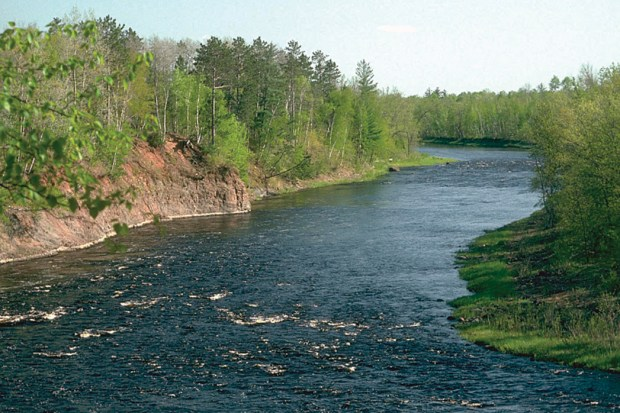 The St. Croix River runs through St. Croix State Park on Sept. 25, 2015. (Courtesy of the Minnesota Department of Natural Resources)