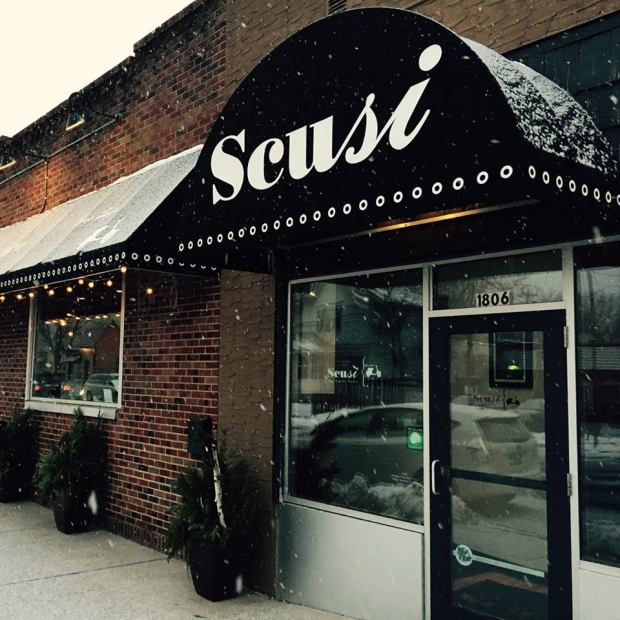 Scusi on St. Clair Avenue in St. Paul will close after dinner on Saturday. (Courtesy Scusi Facebook page)