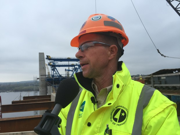 Paul Kivisto is the Minnesota Department of Transportation's bridge construction engineer.
