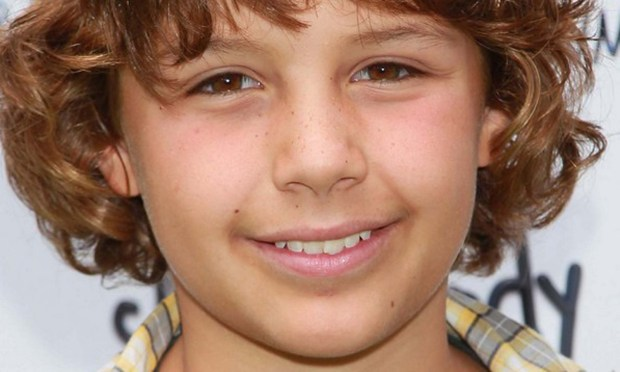 Actor Ty Panitz is 14. (Getty Images: David Livingston)