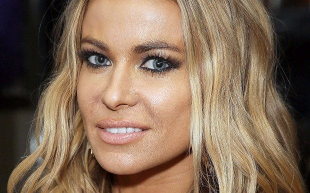 "Actress Carmen Electra of ""Baywatch"" is 44. She also was with the group the Pussycat Dolls. (Getty Images: Chelsea Lauren)"