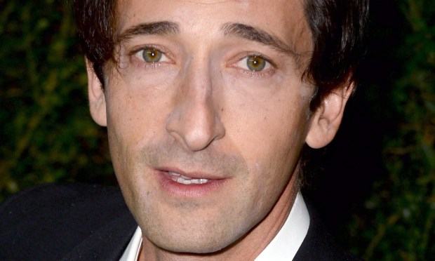 "Actor Adrien Brody of ""The Grand Budapest Hotel"" and ""The Pianist"" (for which he won an Oscar in 2002) is 43. (Getty Images: Frazer Harrison)"