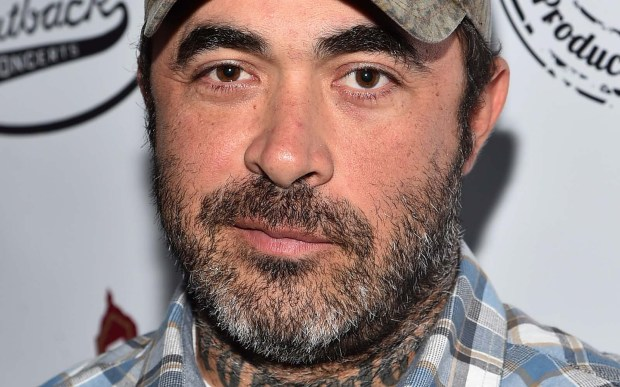 Aaron Lewis from the rock group Staind is 43. (Getty Images: Mike Coppola)