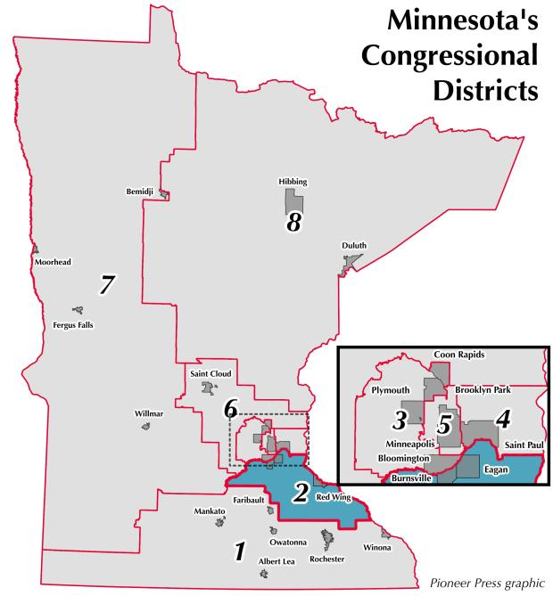 Minnesota's 2nd Congressional District.