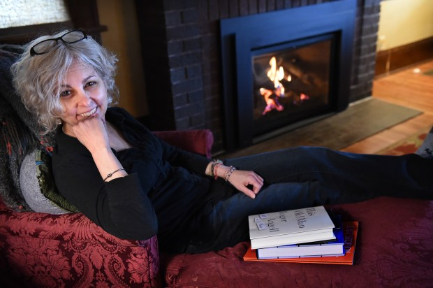 In the afternoon, after finishing her writing for the day, DiCamillo said she reads in this chair in the living room of her Minneapolis home. (Pioneer Press: Jean Pieri)