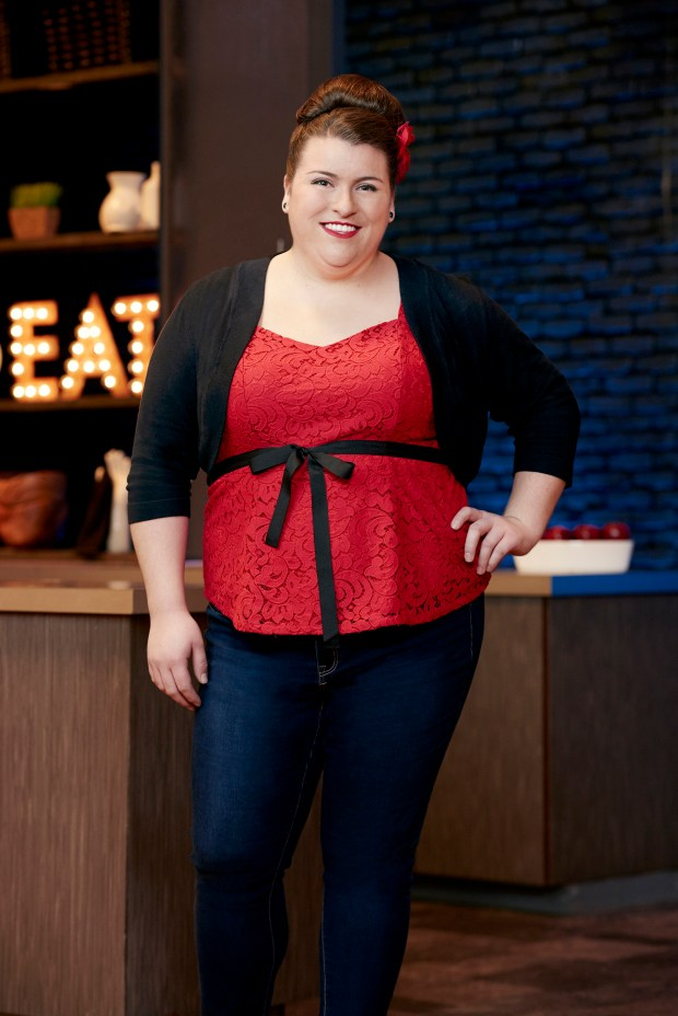 Press photo of Erin Campbell, as seen on Food Network Star, Season 12.