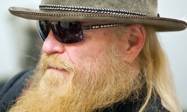 Singer-bassist Dusty Hill of ZZ Top is 67. (Getty Images: Timothy Hiatt)