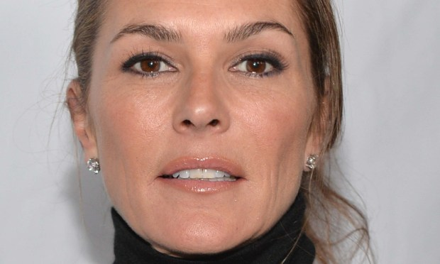"Actress Paige Turco of the ""Teenage Mutant Ninja Turtles"" series is 51. (Getty Images: Alberto E. Rodriguez)"