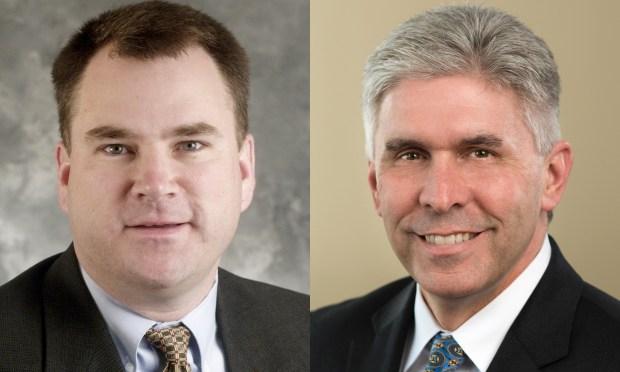 Minnesota Reps. Joe Hoppe and Joe Atkins (Photos courtesy Minnesota House of Representatives)