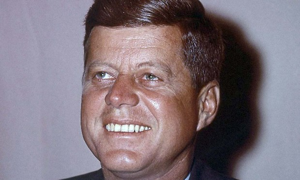 """A breathy """"Happy Birthday, Mr. President"""" to John F. Kennedy, born on this day in 1917. (Associated Press file photo)"""