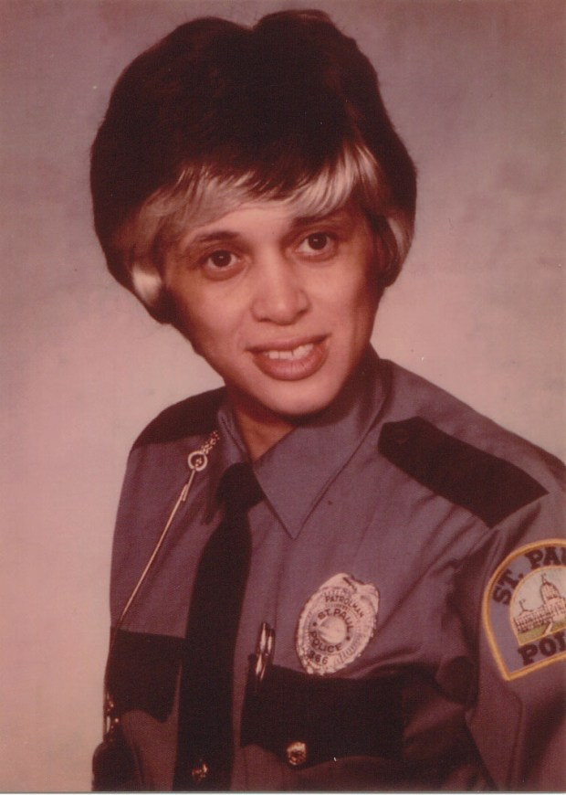 Debbie Montgomery became St. Paul's first female police officer in 1975. (Courtesy Hand In Hand Productions)