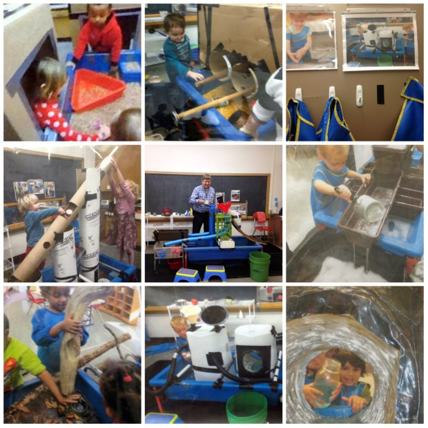 St. Paul ECFE teacher Tom Bedard is known globally for his sand and water tables.