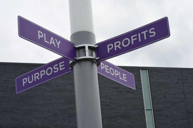 "The new Anytime Fitness corporate building in Woodbury aims to provide the intersection of these four ""P""s, Wednesday, May 25, 2016. (Pioneer Press: Scott Takushi)"