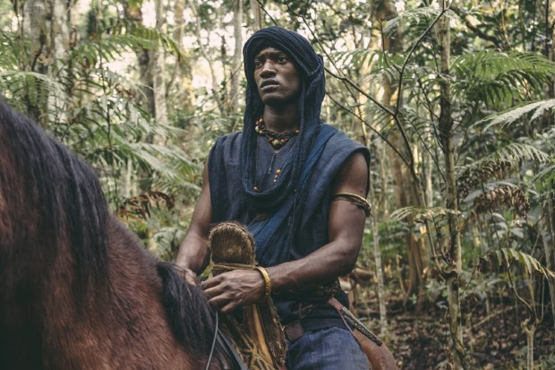 "Malachi Kirby is Kunte Kinte in the 2016 version of ""Roots."""