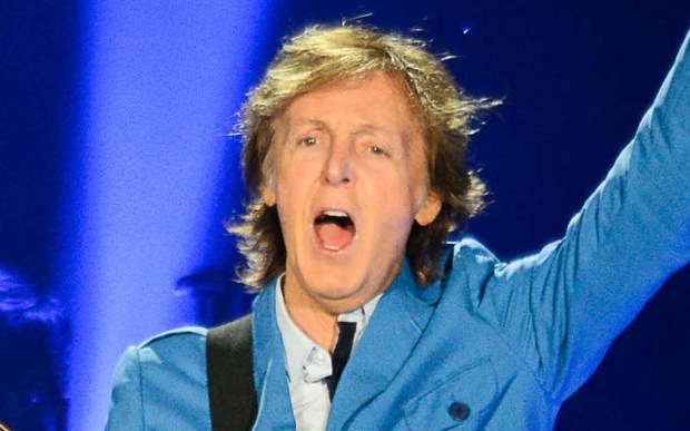 Will we still need him? Will we still feed him? Sir Paul McCartney is 74. He's shown at his Target Field show in August 2014. (Pioneer Press: Ben Garvin)