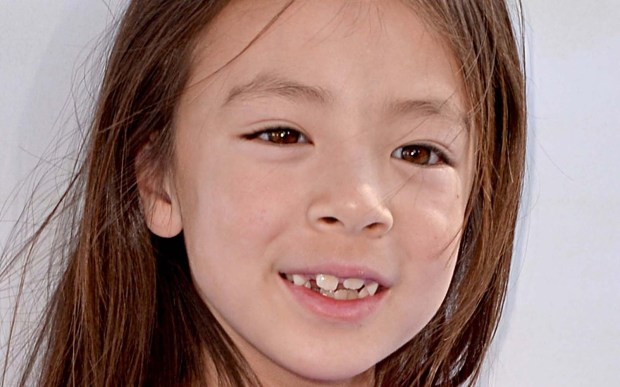 """Actress Aubrey Anderson-Emmons of """"Modern Family"""" is 9. (Getty Images: Kevin Winter)"""