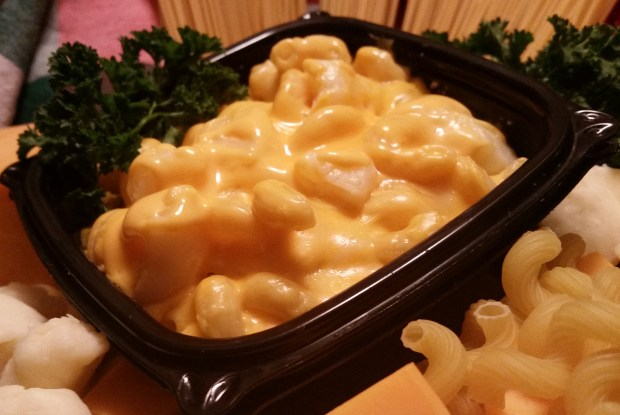 Macaroni & cheese curds: Rich macaroni & cheese blended with fresh cheese curds. At Oodles of Noodles in the Food Building, east wall. (Courtesy of Minnesota State Fair)