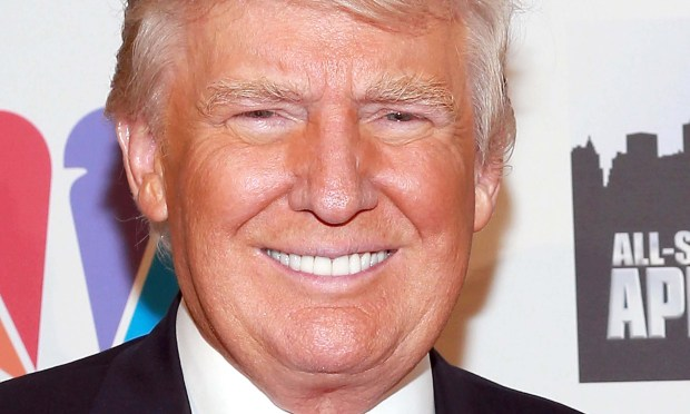 Businessman-TV personality Donald Trump is 70. (Getty Images: Robin Marchant)