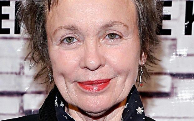 Singer and artist Laurie Anderson and her trademark messy hair are 69. (Getty Images: Cindy Ord)