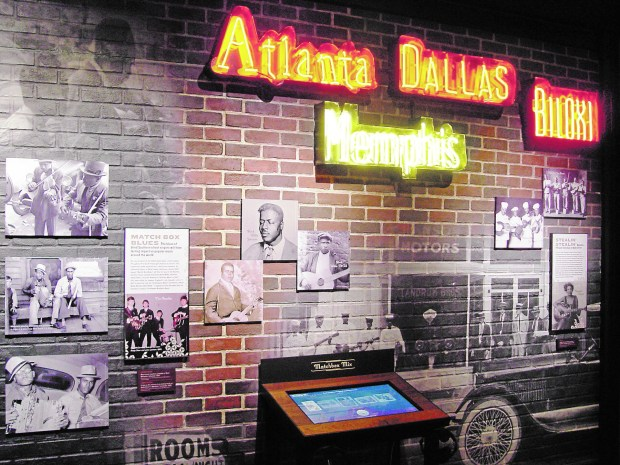 National Blues Museum in St. Louis. (Courtesy of Kathy Henderson)