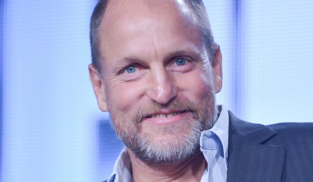 "Actor Woody Harrelson -- in the Twin Cities right now to film ""Wilson"" -- is 55. For some, though, he'll always be Woody of ""Cheers,"" but he also portrayed Dusty the cowboy in Robert Altman's ""A Prairie Home Companion,"" filmed in St. Paul. (Associated Press: Richard Shotwell Invision)"