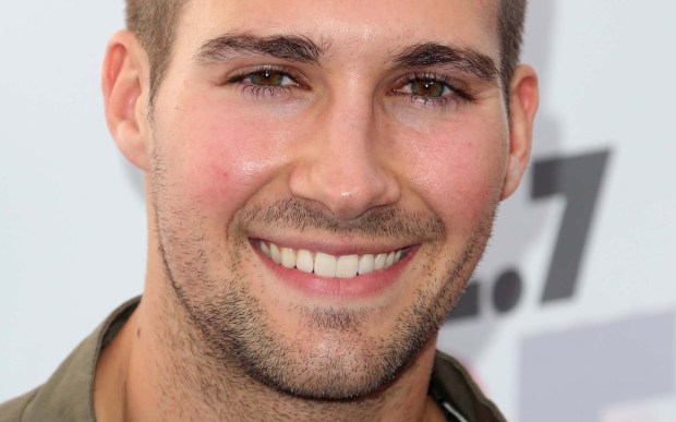 "Actor-singer James Maslow, 26, plays one of the four fictitious Minnesota hockey players chosen to be in a boy band ""Big Time Rush,"" on the Nickelodeon show of the same name. (Getty Images: Frederick M. Brown)"