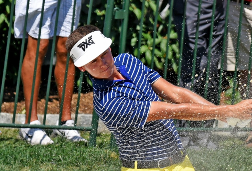 Triple bogey dooms St  Paul s Ben Polland at PGA Championship St  Paul  Minn   native Ben Polland  an assistant golf professional at