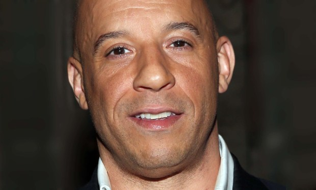 Actor Vin Diesel is 49, hurdling fast and furiously toward middle age. (Getty Images: Jesse Grant)