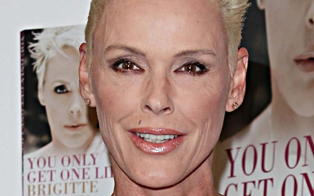 """Danish model-actress Brigitte Nielsen -- who portrayed Ludmilla in """"Rocky IV"""" -- is 53. (Getty Images: Tim Whitby)"""