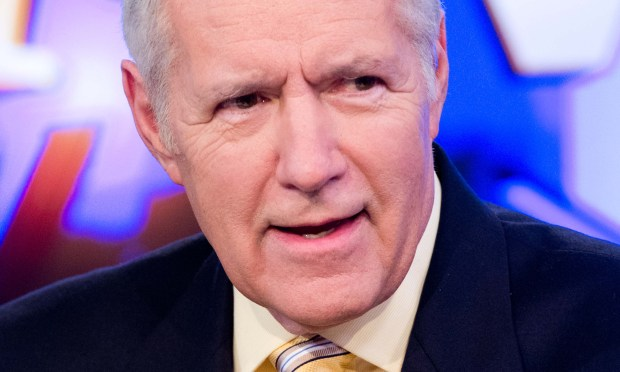 """Jeopardy"" host Alex Trebek -- or, as talk show host David Letterman once introduced him, ""Mr. Know-it-all"" -- is 76. (Getty Images: Noam Galai)"