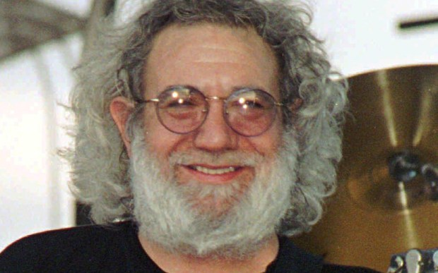 The late Grateful Dead frontman Jerry Garcia was born on this day in 1942. The Rock and Roll Hall of Famer's long, strange trip ended in 1995. (Associated Press: Toby Talbot)