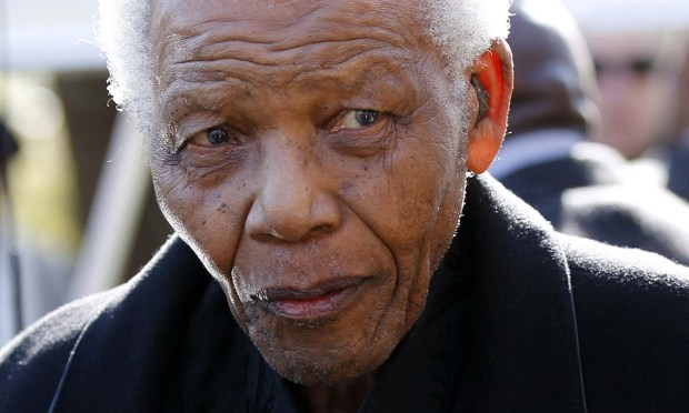 "Nobel Peace Prize winner Nelson Mandela, the first South African ever to be elected in a fully representative democratic election, and who served 27 years in prison under his country's apartheid regime, was born on this day in 1918. Today is Nelson Mandela Day worldwide, as established by the United Nations. ""Madiba"" died in 2013. (Getty Images: Siphiwe Sibeko)"
