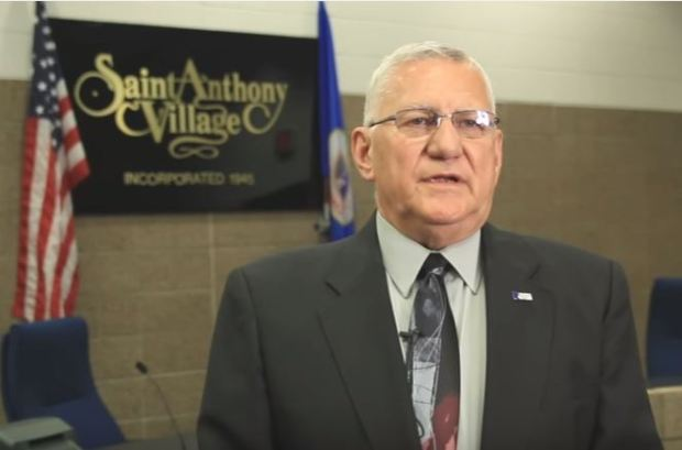 St. Anthony Mayor Jerry Faust.