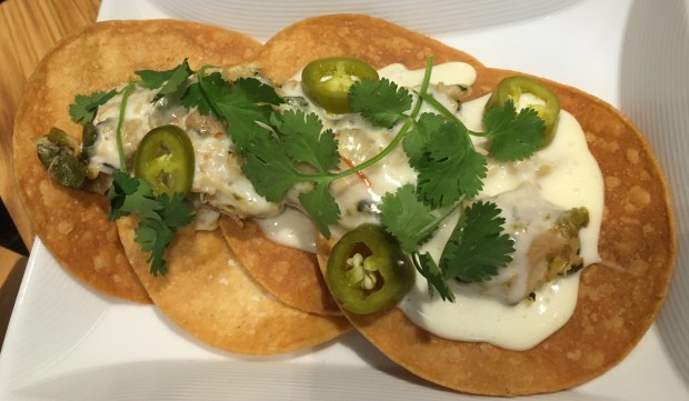 Smokey chicken nachos from Icehouse's Matt Bickford. (Pioneer Press: Jess Fleming)