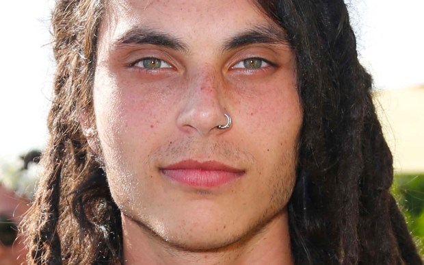 "Actor Samuel Larsen of ""Glee"" is 25 (Getty Images: Imeh Akpanudosen)"