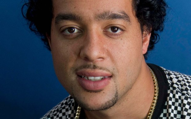 """Sky Blu of LMFAO -- which the band says stands for """"Loving My Friends And Others"""" -- uh huh -- is 30. (Associated Press: Diane Bondareff)"""