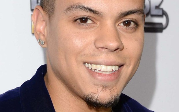 Singer and actor Evan Ross, son of singer Diana Ross, is 28. (Getty Images: Jason Merritt)