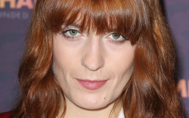 English singer Florence Welch of Florence + the Machine is 30. (Getty Images: Tim P. Whitby)