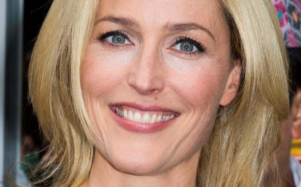 Actress Gillian Anderson is 48. (Getty Images: Tristan Fewings)